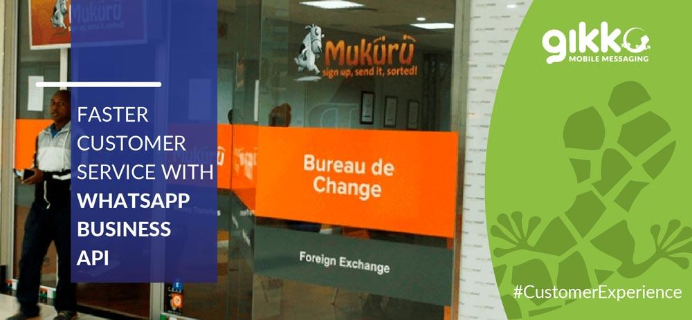 Mukuru: Faster Customer Service with WhatsApp Business API