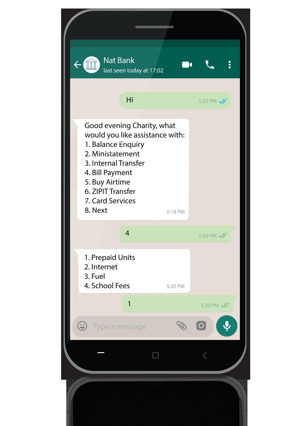 Gikko Whatsapp Chatbot